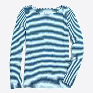 3/$30 J. Crew Long-Sleeve Striped Artist Tee XS
